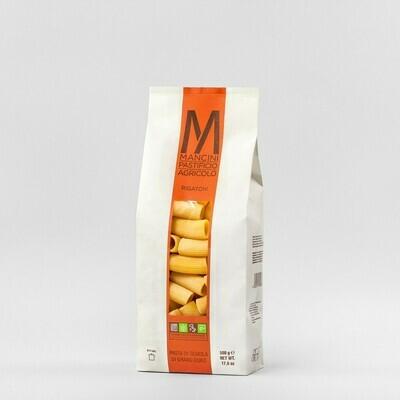 Rigatoni di semola di grano duro  Mancini