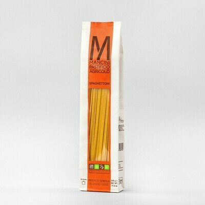 Spaghettoni di semola di grano duro  Mancini