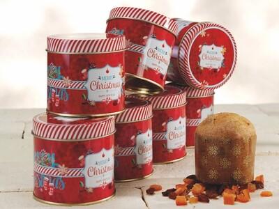 Panettoncino Classico lattina  Merry Christmas Code 4656