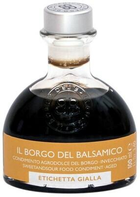 Condimento Agrodolce del Borgo  invecchiato - etichetta gialla 50° Brix  Il Borgo del Balsamico