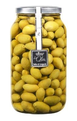 Olive Bella di Cerignola Medium  in Salzlake  DE CARLO
