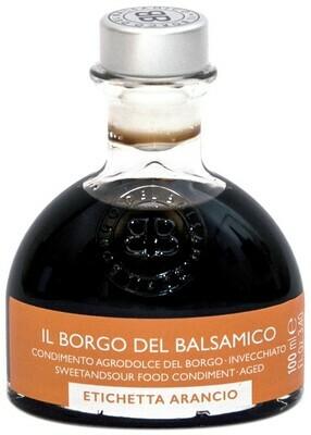 Condimento Agrodolce del Borgo  invecchiato - etichetta arancio  60° Brix  Il Borgo del Balsamico