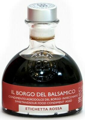 Condimento Agrodolce del Borgo  invecchiato - etichetta rossa  60° Brix  Il Borgo del Balsamico