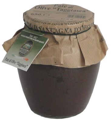 Paté olive taggiasche 650g  Sant'Agata