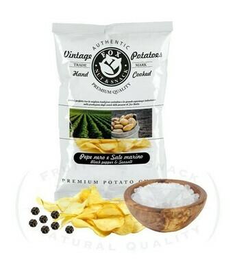 Chips Vintage di Patate  con Pepe nero e sale marino  Fox Italia