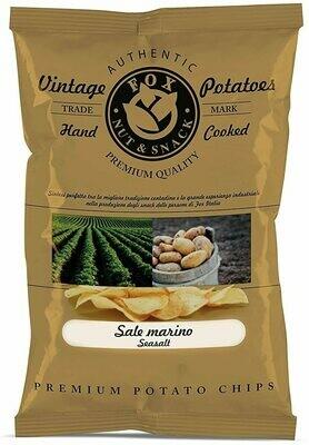 Chips Vintage di Patate  con Sale Marino Fox Italia