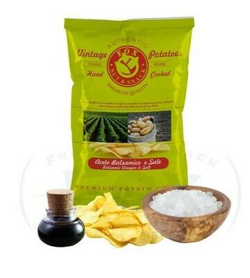 Chips Vintage di Patate  con Aceto Balsamico Fox Italia