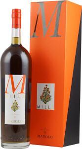 """""""Milla"""" Liquore alla Camomilla  con Grappa di Nebbiolo Marolo  in Geschenketui"""