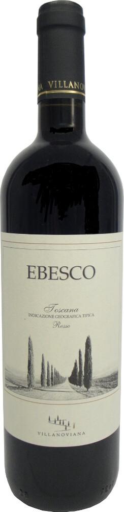 Ebesco Rosso di Toscana IGT  Villanoviana in Holzkiste