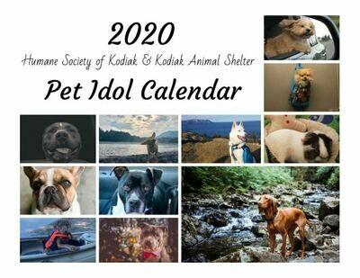 2020 Pet Idol Calendar