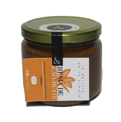 Crema de cacao-huate (retornable)