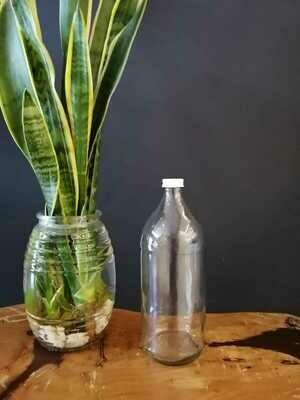 Frasco de vidrio 1 litro
