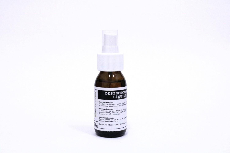 Desinfectante líquido de bolsillo (retornable)