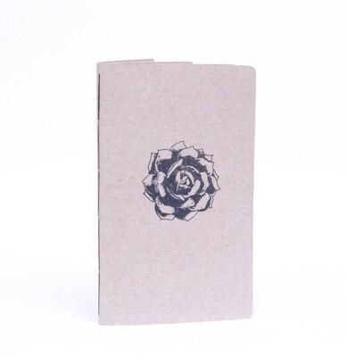 Libreta de papel reciclado 1/2 carta Lux Soluna