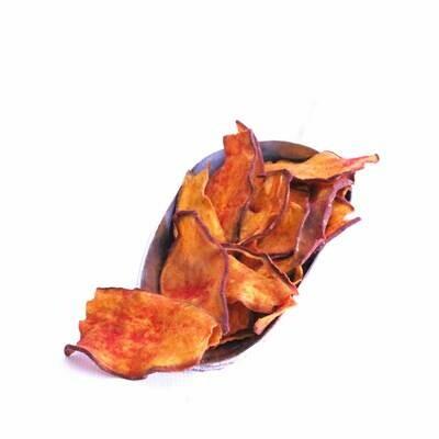 Chips de camote enchiladas