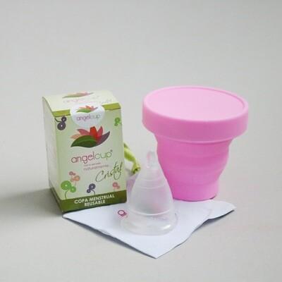 Combo copa menstrual + vaso esterilizador