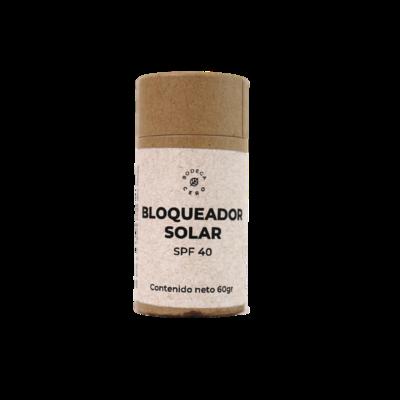 Bloqueador solar 40SPF en barra