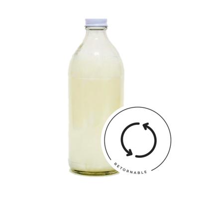 Shampoo líquido de miel y yogurt - retornable