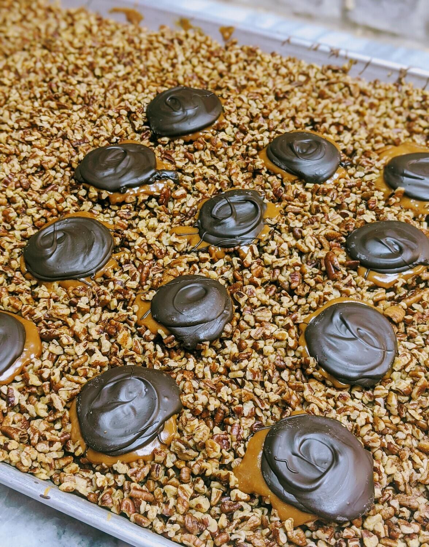 12 Piece Tybee Terrapin Box - Dark Chocolate