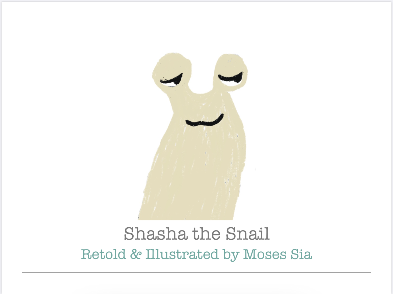 Shasha the Snail (Printed Book)