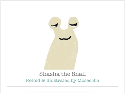 Shasha the Snail (Printed Book)