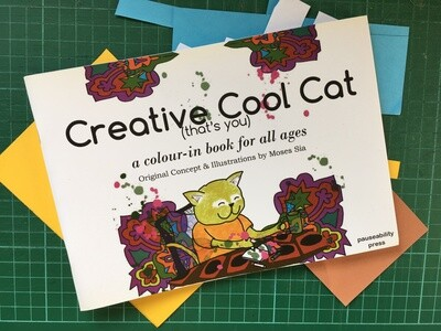 Creative Cool Cat (Printed Book)