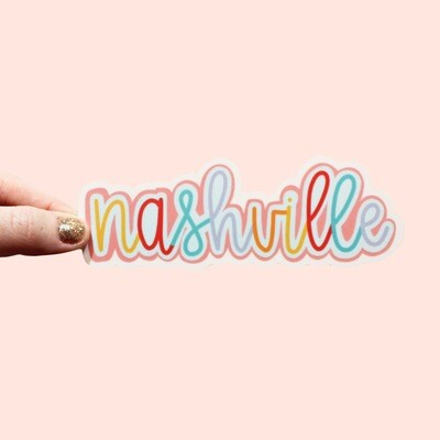 NASHVILLE COLOR STICKER