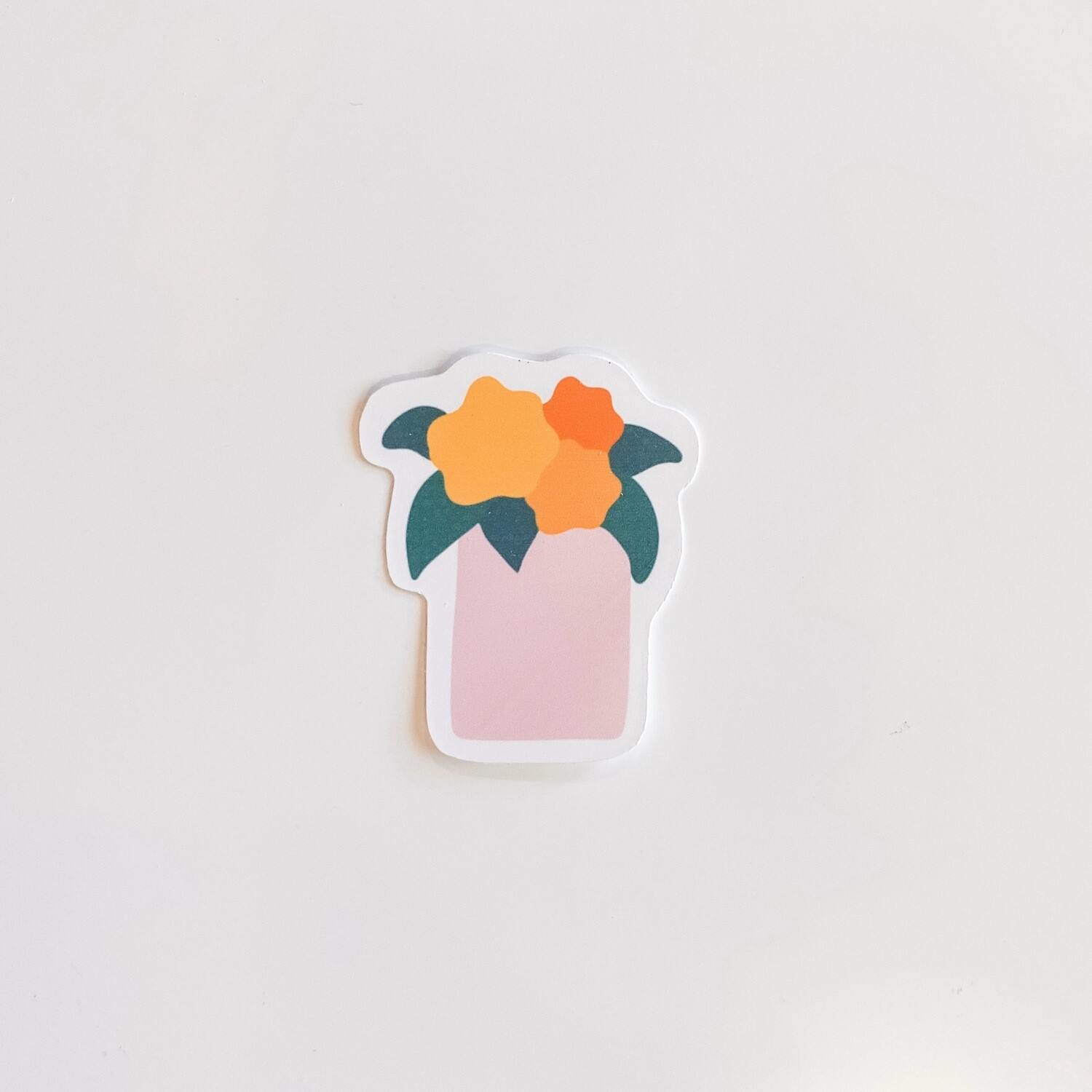 PINK PLANTER STICKER