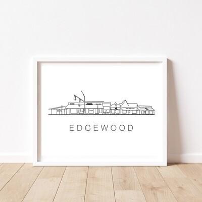 EDGEWOOD STRIP 8 x 10 PRINT