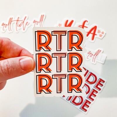 RTR BLOCK STICKER