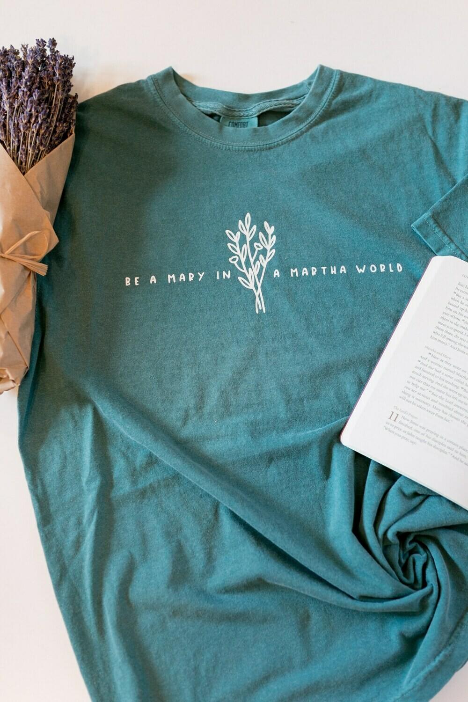 The Jane Shirt - emerald green