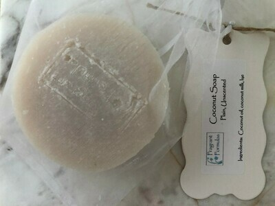 Coconut Soap, Unscented