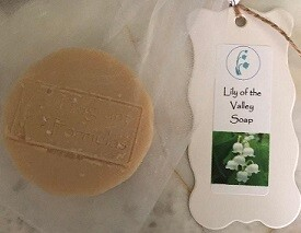 Lily of the Valley Soap, Tallow/Goat's Milk