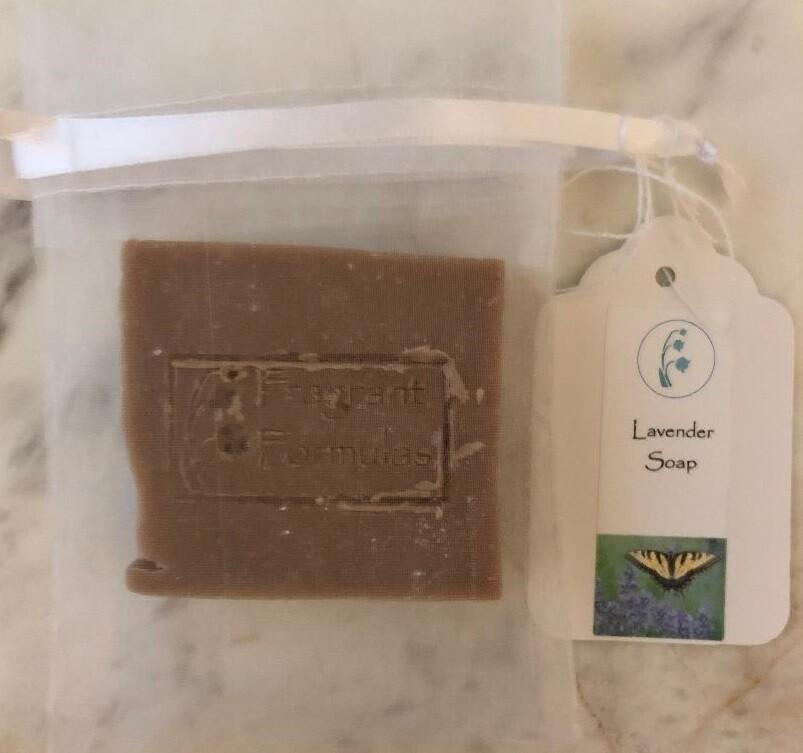 Lavender Soap, Tallow/Goat's Milk