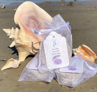 Lavender Sea Salt Scrub Soap