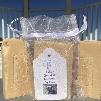 Tallow / Goat's Milk, Unscented
