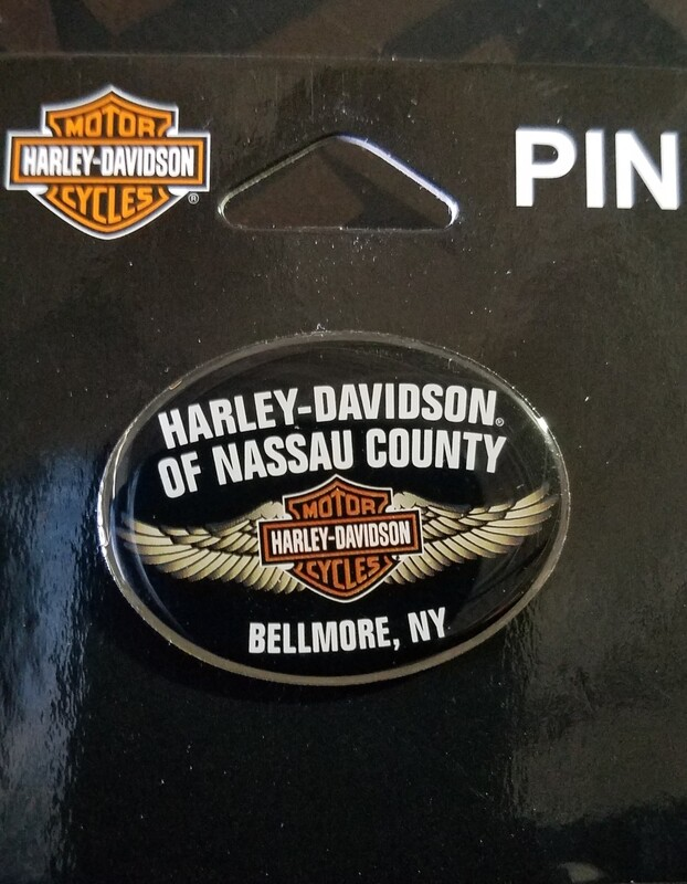 Nassau County Custom Pin-WINGS