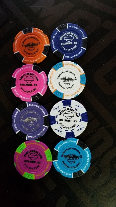 Nassau County Poker Chip