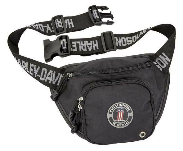 Harley-Davidson #1 RWB Logo Belt Bag