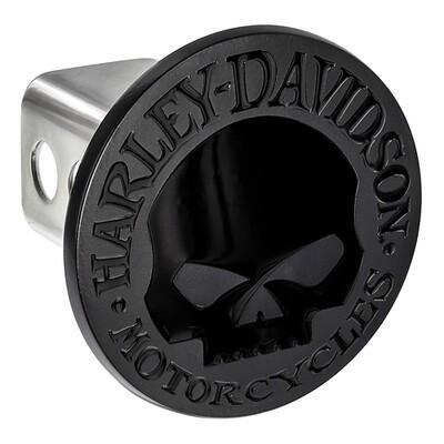 Harley Davidson Matte Skull Hitch Cover