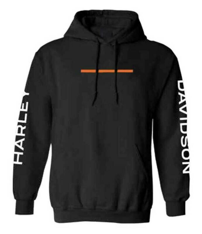Harley-Davidson Men's Hyphen Pullover Hooded Sweatshirt - Black