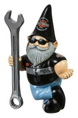 * NEW* Harley-Davidson® Mechanic Male Polystone Garden Gnome