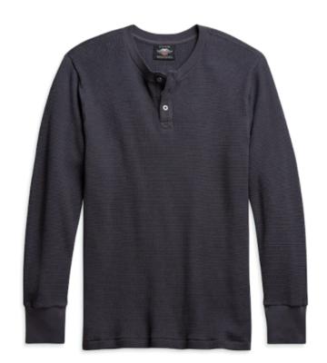 Men's Thermal Knit Henley