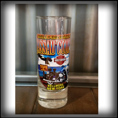 H-D of Nassau County's Custom Shotglass