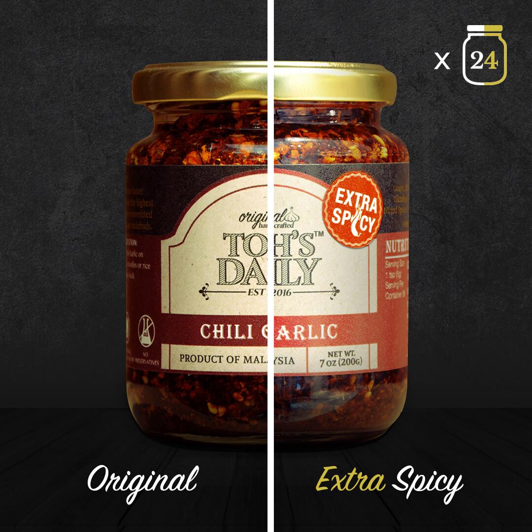 Toh's Daily Chili Garlic 24 Jars
