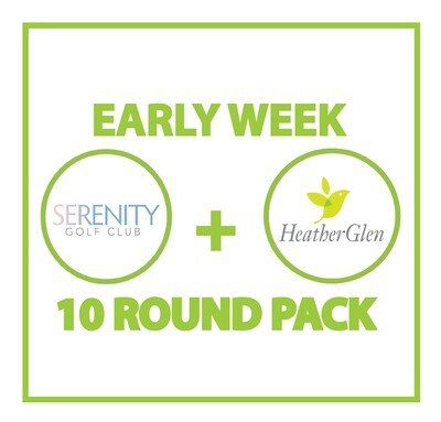 Early Week Serenity + HeatherGlen 10 Round Pack 99645