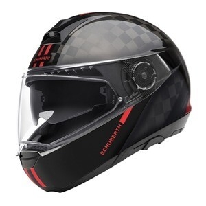 SCHUBERTH C4PRO CARBON FUSION RED