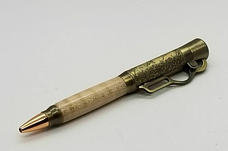 Lever Action Bullet Pen