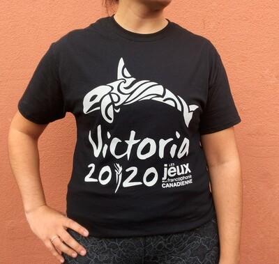 T-shirt Victoria 2020 noir // black