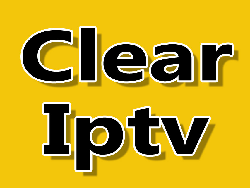 Clear iptv HD (Sous-titrage, closed caption) Windows pc, Apple, iptv box, Android. 14 MOIS DE SERVICE POUR LE PRIX DE 12